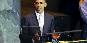 Obama speaks at UN